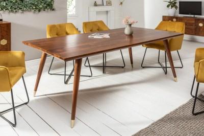 Dizajnový jedálenský stôl Justice 160 cm akácia