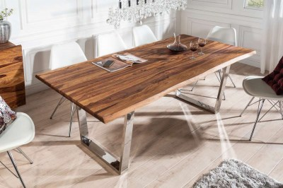 Dizajnový jedálenský stôl Massive 200 cm sheesham