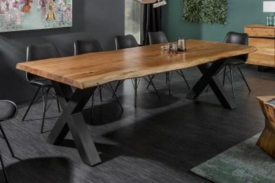 Dizajnový jedálenský stôl Massive X Honey 300 cm akácia
