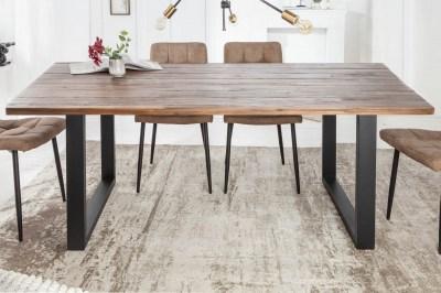 Dizajnový jedálenský stôl Saxon II 180 cm akácia