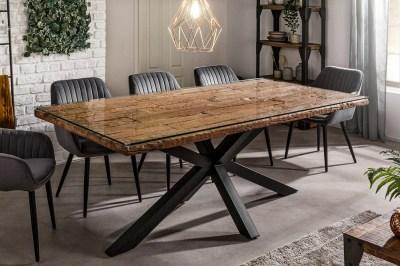Dizajnový jedálenský stôl Shark 200 cm prírodný