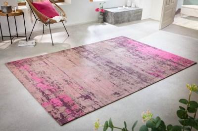 Dizajnový koberec Rowan 240 x 160 cm béžovo-ružový