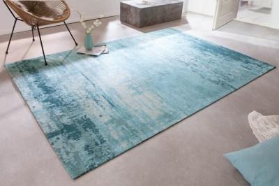 Dizajnový koberec Rowan 240 x 160 cm tyrkysovo-béžový