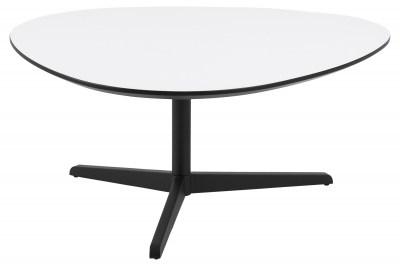 Dizajnový konferenčný stolík Ahab, 103 cm, biela