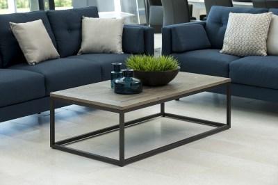 Dizajnový konferenčný stolík Akuma, 130 cm