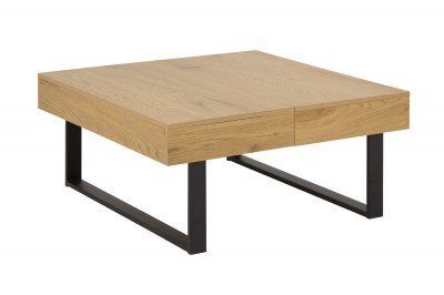 Dizajnový konferenčný stolík Danyl 80 cm divoký dub