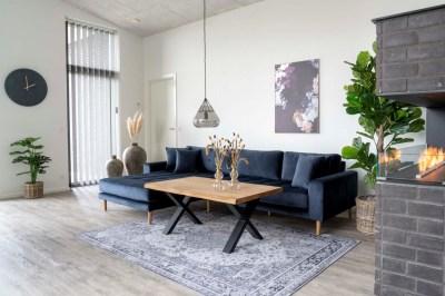 Dizajnový konferenčný stolík Jonathon 120 cm prírodný dub