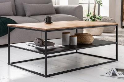 Dizajnový konferenčný stolík Nathalie 95 cm dub