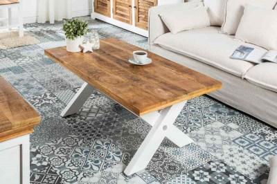 Dizajnový konferenčný stolík Rodney 110cm mango