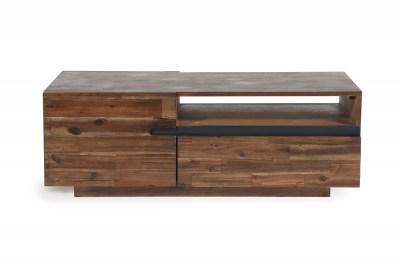 Dizajnový konferenčný stolík Saxon II 115 cm akácia