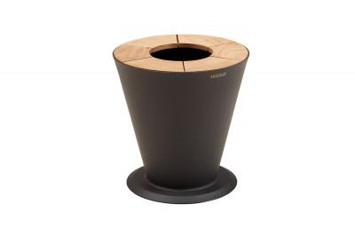 Dizajnový kvetináč HIGOLD - ICOO Flower Basket Black