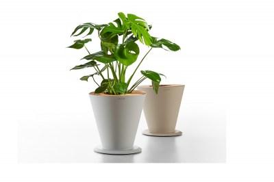 Dizajnový kvetináč HIGOLD - ICOO Flower Basket White