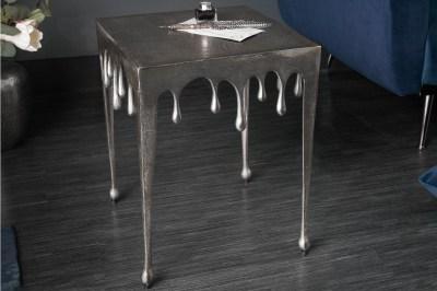Dizajnový odkladací stolík Gwendolyn S 44 cm strieborný