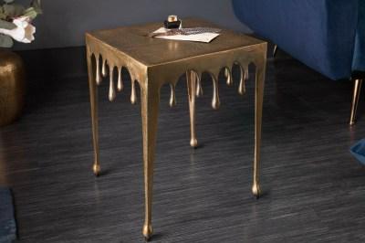 Dizajnový odkladací stolík Gwendolyn S 44 cm zlatý
