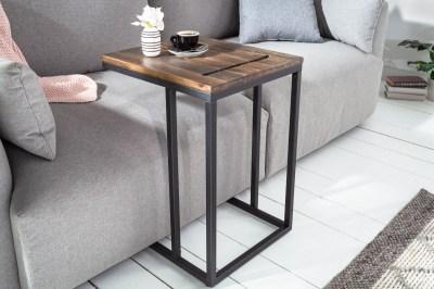 Dizajnový odkladací stolík Factor Tablet 43 cm akácia