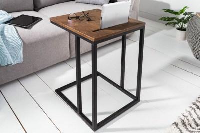 Dizajnový odkladací stolík Factor Tablet 43 cm dub