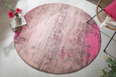 dizajnovy-okruhly-koberec-rowan-150-cm-bezovo-ruzovy-1