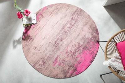 dizajnovy-okruhly-koberec-rowan-150-cm-bezovo-ruzovy-2