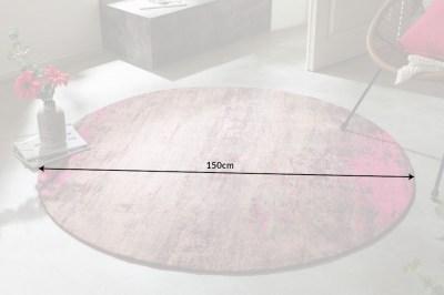 dizajnovy-okruhly-koberec-rowan-150-cm-bezovo-ruzovy-6
