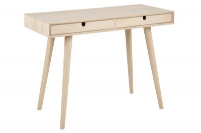 Dizajnový písací stôl Nadia 100 cm, dub