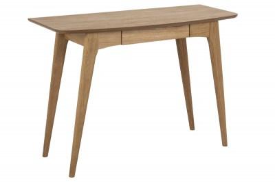 Dizajnový písací stôl Narnia 105 cm, olejovaný dub