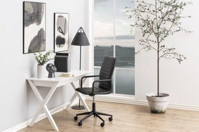 Dizajnový písací stôl Naroa 120 cm, biely