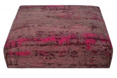 Dizajnový podlahový vankúš Rowan 70 cm červeno-ružový