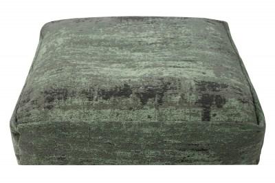 Dizajnový podlahový vankúš Rowan 70 cm zelený
