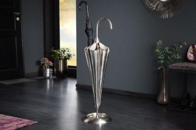 Dizajnový stojan na dáždniky Harlean 91 cm strieborný