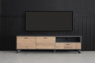 Dizajnový TV stolík Aakil, 155 cm