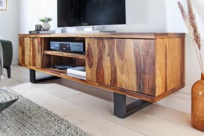 Dizajnový TV stolík Falco II 160 cm Sheesham