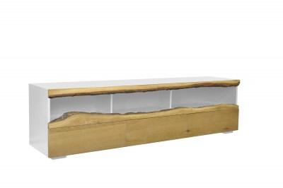 Dizajnový TV stolík Kira 180 cm dub - biely