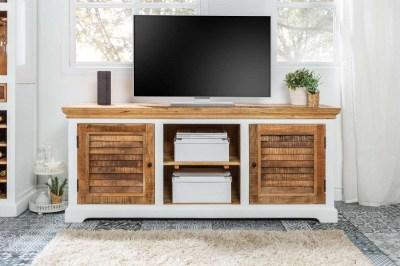 Dizajnový TV stolík Rodney 160cm mango