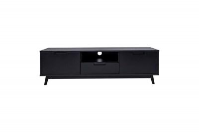 Dizajnový TV stolík Ronald čierny