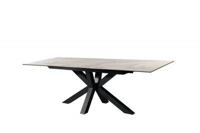 Dizajnový jedálenský stôl Age 180-225 cm vzor mramor