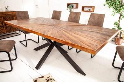 Dizajnový jedálenský stôl Catalina 200 cm mango