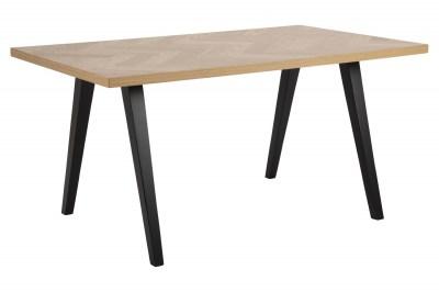 Dizajnový jedálenský stôl Cristopher 150 cm vzor dub