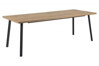 Dizajnový jedálenský stôl Marlon 220 cm divý dub