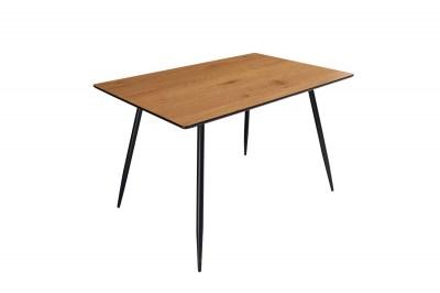 Dizajnový jedálenský stôl Nathalie 120 cm dub