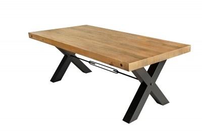 Dizajnový jedálenský stôl Thunder 200 cm prírodný - borovica