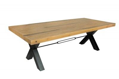 Dizajnový jedálenský stôl Thunder 240 cm prírodný - borovica
