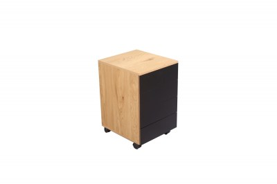Dizajnový kancelársky kontajner Kiana vzor dub