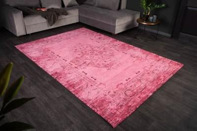 Dizajnový koberec Francis 240 x 160 cm ružový