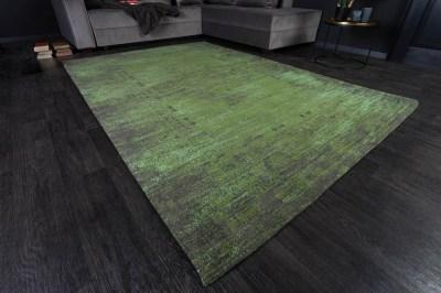 Dizajnový koberec Francis 240 x 160 cm smaragdovozelený
