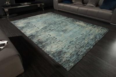 Dizajnový koberec Saniyah 240 x 160 cm tyrkysovo-modrý