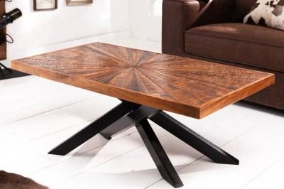 Dizajnový konferenčný stolík Catalina 105 cm mango