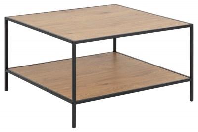 Dizajnový konferenčný stolík Naja 80 cm divý dub