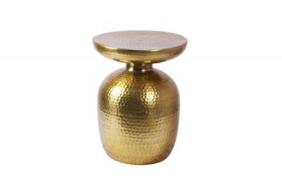 Dizajnový odkladací stolík Malia 36 cm zlatý