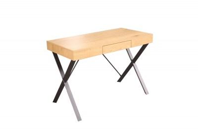 Dizajnový písací stôl Kiana 110 cm vzor dub