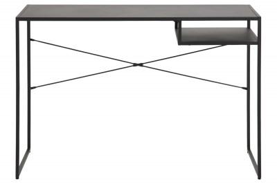 Dizajnový písací stôl Layton čierny